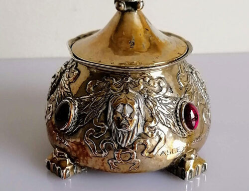 Omar Ramsden silver pot makes £7,000 in our Timed auction